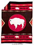 Native American Fleece Blanket - 'White Buffalo'