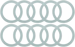 10 Pcs O-Ring Rubber Gasket Seal, Blender Sealing Ring Replacement for Oster and Osterizer Blenders