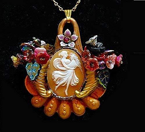 Flower Goddess Pendant