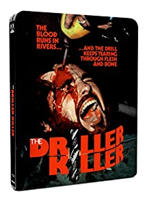Cover Image for 'Driller Killer, The (Limited Edition Steelbook) [Blu-ray + DVD]'