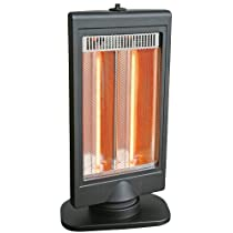 Comfort Zone® Flat Panel Halogen Heater CZHTV9