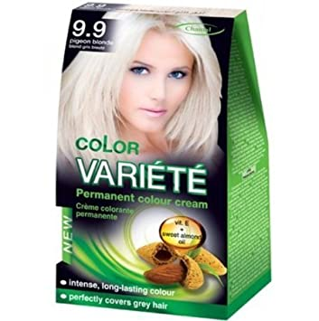 36571a9ed6d Amazon.com  PERMANENT HAIR COLOUR CREAM HAIR DYE (9.9 Pigeon Blonde ...