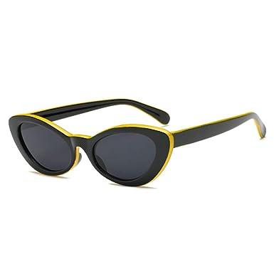 Fulision Fashion Oval Round Retro Gafas de sol Color Tinte ...
