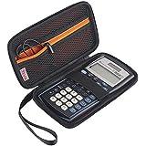 BOVKE Scientific Calculator Carrying Case for Texas Instruments TI-30X IIS 2-Line Scientific BA II Plus Financial Calculator,Black