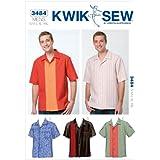 Kwik Sew K3484 Shirts Sewing Pattern, Size S-M-L-XL-XXL