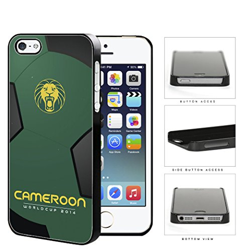 cameroon-world-cup-2014-soccer-ball-hard-plastic-snap-on-cell-phone-case-cover-iphone-5-5s