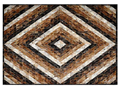 Desenho Geométrico Tapecouro Exótico Caramelo