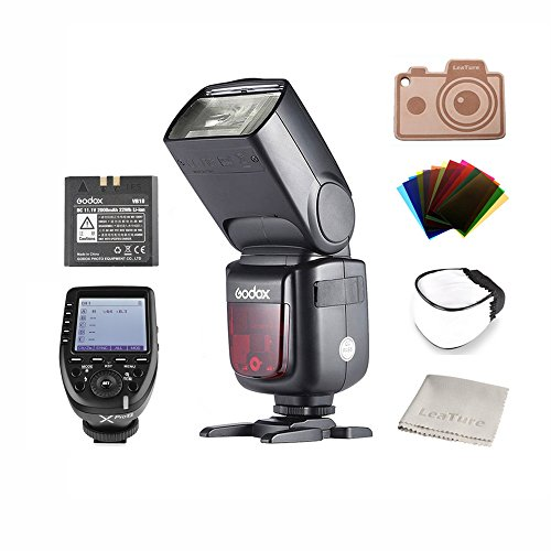 Godox Ving TTL V860IIN Camera Flash with Xpro-N Transmitter Trigger, High Speed 1/8000s GN60 for Nikon Cameras E-TTL II Autoflash (V860IIN+Xpro-N)