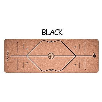 LMSHM Yoga Mat Estera De Yoga Cork Plus Size 183 * 65Cm ...
