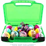 Life Made Better Pikmi Pops Surprise Case, Compatible Carrying Storage Case for Toys. Playset Organizer for Kid's Figures & Accessories, Green