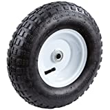 Tricam FR2010 Pneumatic Replacement Turf Tire for Hand Trucks and Lawn Carts, 13-Inch