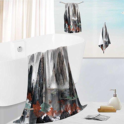 aolankaili 3-Piece Luxury Hotel/Spa 100% Turkish Cotton Stri