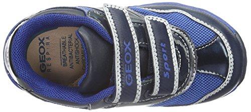 Geox B Todo Boy a, Botines de Senderismo para Bebés Azul (Navy / Dk Silver C4201)