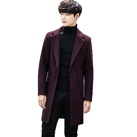 giacca lunga uomo nera