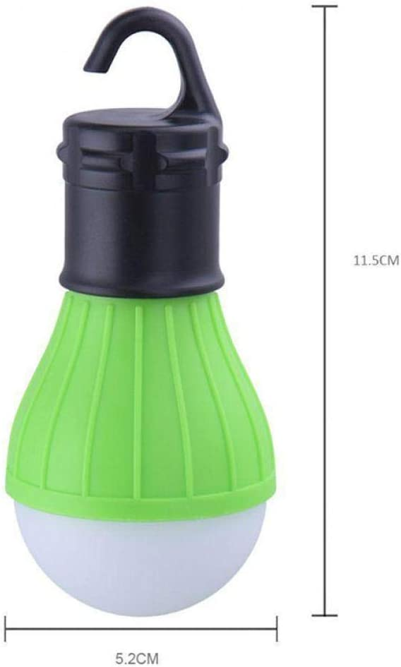 dalinana Multifunctional Outdoor Camping LED Tent Light Portable Emergency Lamp with Hook Lanterns