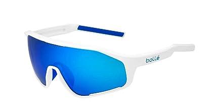 3592f9dbc4 Amazon.com   Bolle 12508 Shifter Shiny White Sunglasses