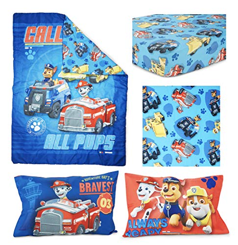 Paw Patrol Paw Patrol Calling All Pups 4-Piece Toddler Bedding Set 2