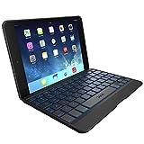 ZAGG ZAGGkeys Folio with Backlit Keyboard for Apple iPad mini retina 2 (Black)