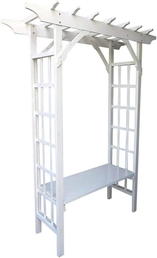 Sur árbol con asiento, pintado de blanco, 64 cm W x 81 cm H ...