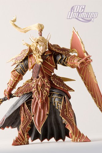 DC Comics World of Warcraft Series 3 Blood Elf Paladin Action Figure
