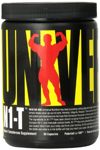 Universal Nutrition N1-T Dietary Supplement, Natural Hormone Enhancer , 90 (Universal Animal Test)