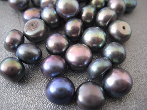 half drilled beads - 1