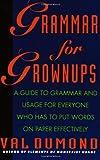 Grammar for Grownups, Val Dumond, 0062720430