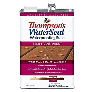 Thompson TH.042841-16 - Sellado de agua (acero inoxidable), color marrón