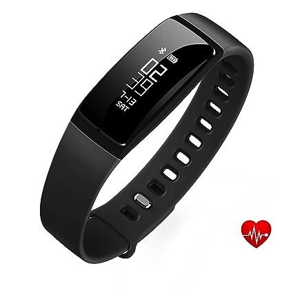 Amazon Com Fitness Tracker Health Sleep Activity Tracker Upgraded