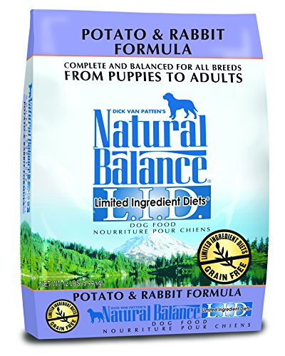 Cheap Natural Balance Limited Ingredient Diets Potato and Rabbit Formula Dry Dog Food