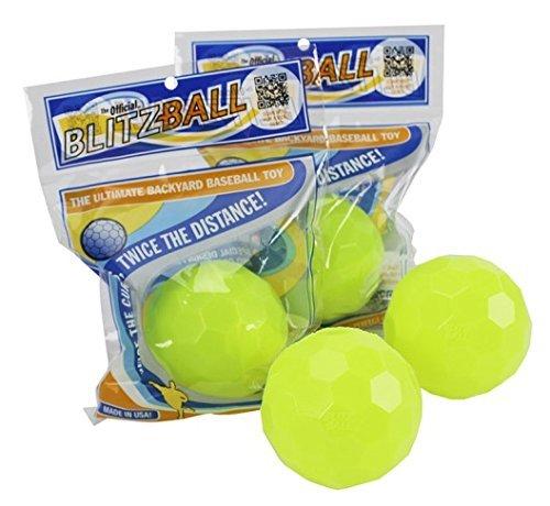 (Blitzball Plastic Baseball (4 Pack))
