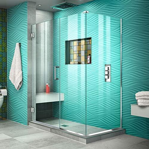 DreamLine SHEN-24520300 – 01 Unidoor Plus con bisagra mampara de baño: Amazon.es: Bricolaje y herramientas
