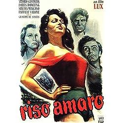 Bitter Rice POSTER Movie (1949) Italian Style D 11 x 17 Inches - 28cm x 44cm (Silvana Mangano)(Maria Capuzzo)(Doris Dowling)(Vittorio Gassman)(Raf Vallone)(Checco Rissone)