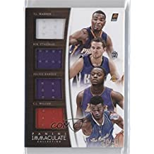 C.J. Wilcox; Julius Randle; T.J. Warren; Nik Stauskas #29/49 (Basketball Card) 2014-15 Panini Immaculate Collection - Quad Relics #Q-PAD