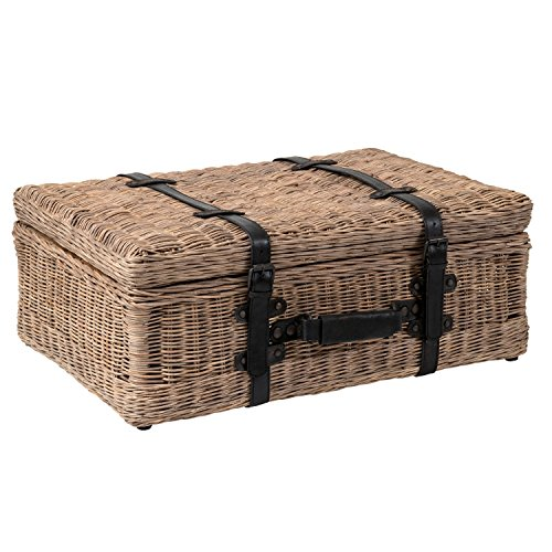 Jeffan International Amelia Rattan Suitcase (Rattan Suitcase)