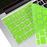 TOP CASE Silicone Keyboard Cover Skin for Old Generation Macbook 13