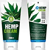HempO Hemp Cream Fast Relief and Relaxation [200 ML / 6.76 Fl. OZ]