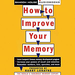 How to Improve Your Memory Audiobook