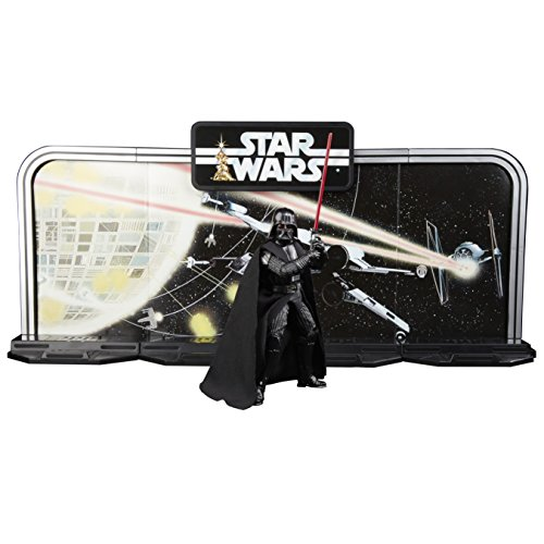 Star Wars The Black Series 40th Anniversary Display Diorama with Darth Vader 15cm Action Figure Legacy Pack