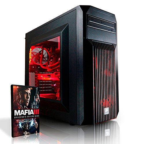 Megaport High End Gaming PC Intel Core i7-6700 4x 4.0 Turbo • Nvidia GeForce GTX1060 6GB • 16GB DDR4 • Windows 10 • 1TB • WLAN • USB3.0 gamer pc computer desktop pc gaming pc gaming computer rechner