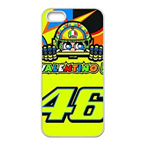 iPhone 4 4s Cell Phone Case White Valentino Rossi DKX Back Custom Cell Phone Case