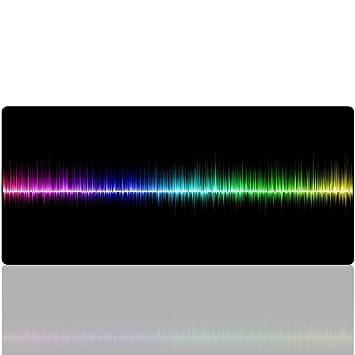Arc En Ciel Tapis De Souris Gaming Beyme Xxl 900x400 Mm Rainbow