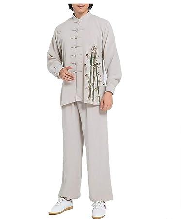 Amazon.com: WAZMM AZZ Tai Chi Clothing - Ropa para mujer de ...