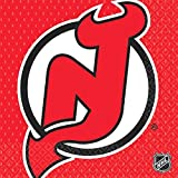 New Jersey Devils Luncheon Napkins NHL Hockey Sports Party Tableware, 16 Pieces, Made from Paper, by Amscan
