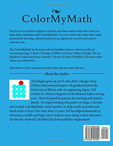 Amazon.com: Color My Math: Elementary Numbers (9781983444524): Ted ...