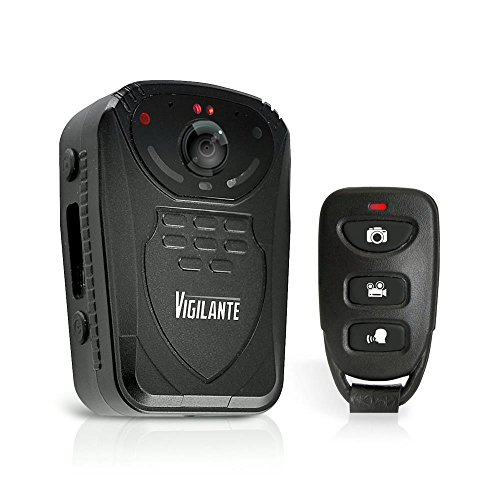 Updated Pyle Wireless Camera, Compact Security Wireless  Cams,  Audio Video Recording, Night Vision, Rechargeable Batteries, Memory 16GB LCD Display, Splash Proof Water Resistant, Police Camera