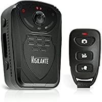 Updated Pyle Body Wireless Camera | Compact Security Body Cams | Audio Video Recording | Night Vision, Rechargeable Batteries | Memory 16GB LCD Display | Splash Proof Water Resistant | Police Camera