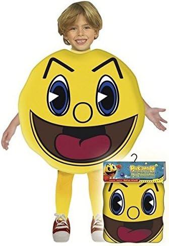 Pac Man - Disfraz talla 3, 7/9 años (Josman): Amazon.es: Juguetes ...