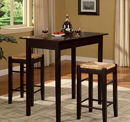 Dining Table Set for 2, Dining Tables For Small Spaces,Dinette Sets For Small Spaces,3 Pieces Contemporary Design In Your Living Room!