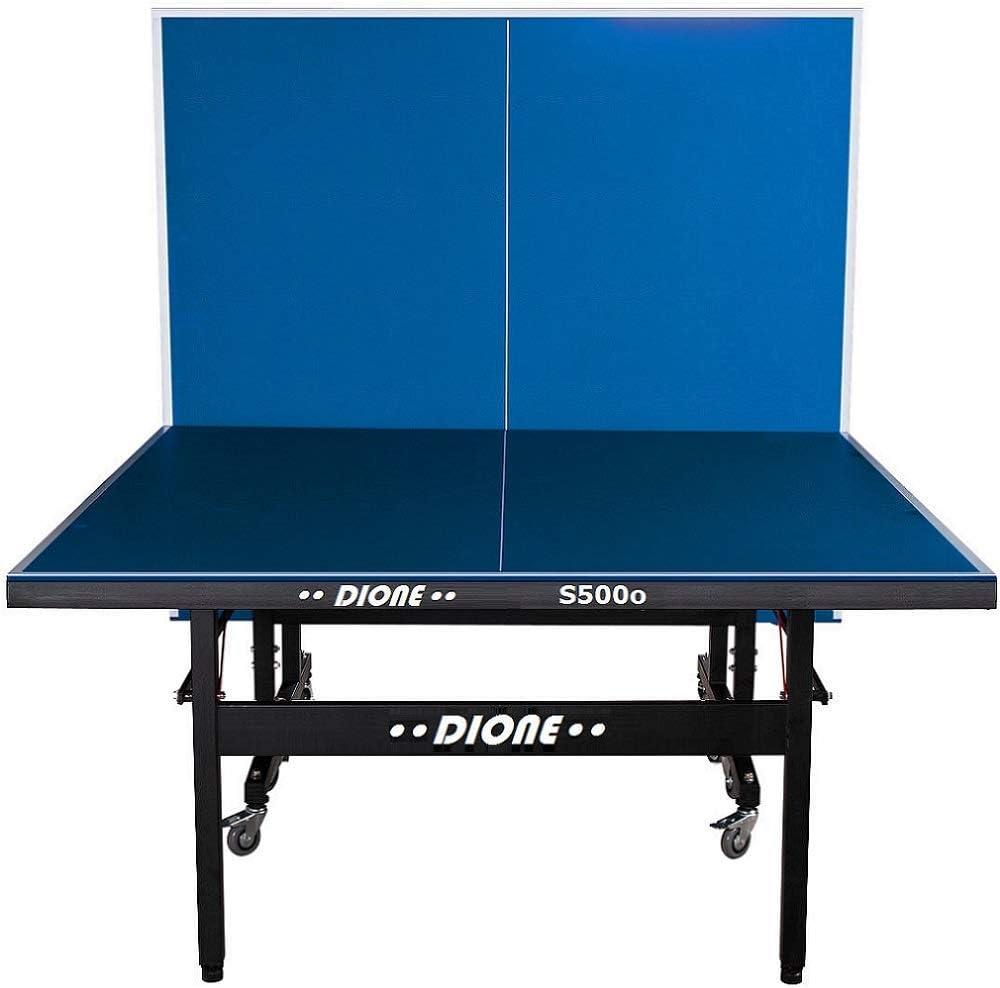 Dione S500o - Mesa de ping pong (6 mm, plegable, para exteriores, 55 kg, 10 minutos de instalación): Amazon.es: Deportes y aire libre